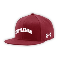 SKYLEMAR UNDER ARMOUR FLAT BRIM STRETCH FITTED CAP