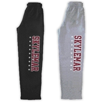 SKYLEMAR OPEN BOTTOM SWEATPANTS WITH POCKETS