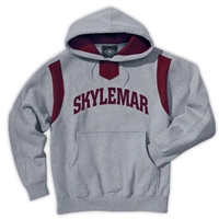 SKYLEMAR TWILL LOGO HOODED SWEATSHIRT