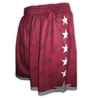 SKYLEMAR SUBLIMATED BASKETBALL SHORTS
