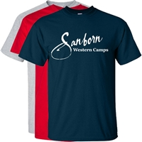SANBORN WESTERN CAMPS OFFICIAL TEE
