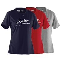 SANBORN WESTERN CAMPS LADIES UNDER ARMOUR TEE