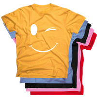 SMILEY WINK TEE