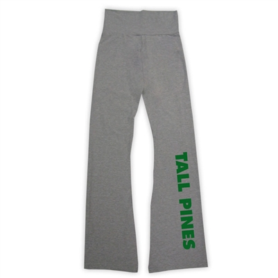 TALL PINES DAY CAMP AMERICAN APPAREL COTTON SPANDEX JERSEY YOGA PANT