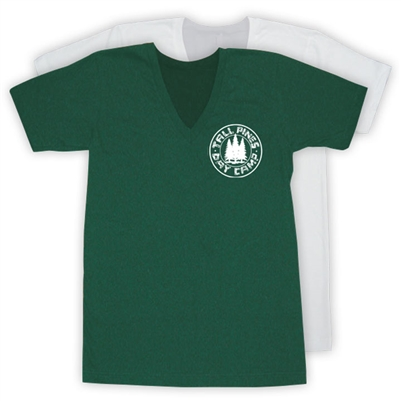 TALL PINES DAY CAMP AMERICAN APPAREL UNISEX JERSEY V-NECK TEE