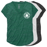 TALL PINES RELAXED HEATHER V-TEE