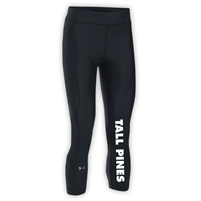 TALL PINES DAY CAMP LADIES UNDER ARMOUR HEAT GEAR ARMOUR CAPRI