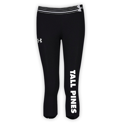 TALL PINES DAY CAMP GIRLS UNDER ARMOUR HEAT GEAR ALPHA CAPRI