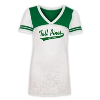 TALL PINES DAY CAMP SPORTY BURNOUT V-NECK