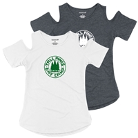 TALL PINES COLD SHOULDER TEE