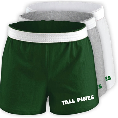 TALL PINES DAY CAMP LADIES COTTON SHORT