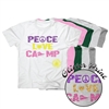 TALL PINES PEACE, LOVE ,CAMP COTTON TEE BY LUXEBASH