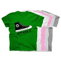 TALL PINES SNEAKER COTTON TEE BY LUXEBASH