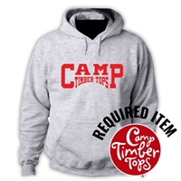 TIMBER TOPS OFFICIAL HOODED SWEATSHIRT