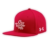 TIMBER TOPS UNDER ARMOUR FLAT BRIM STRETCH FITTED CAP