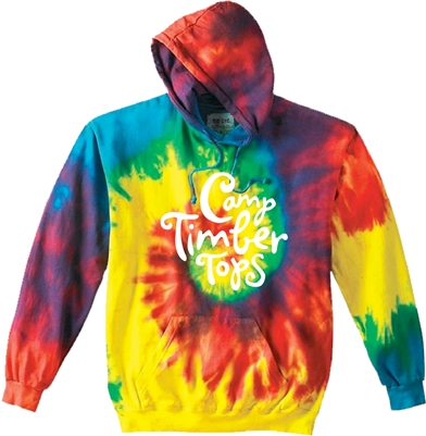 TIMBER TOPS SWIRL TIE DYE SWEATSHIRT