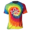TIMBER TOPS SWIRL TIE DYE TEE