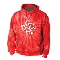 TIMBER TOPS RED TIE DYE SWEATSHIRT