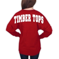 TIMBER TOPS POM POM PULLOVER