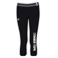 TIMBER TOPS GIRLS UNDER ARMOUR HEAT GEAR ALPHA CAPRI
