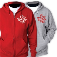 TIMBER TOPS FULL ZIP HOODED SWEATSHIRT