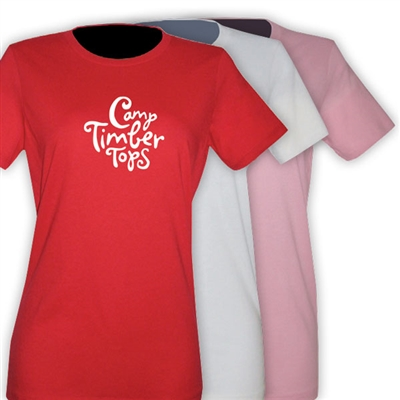 TIMBER TOPS GIRLS FITTED TEE