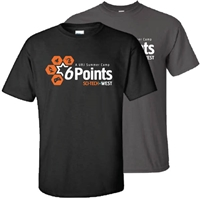 6 POINTS WEST SCI-TECH TEE
