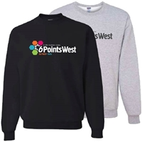 6 POINTS WEST CREW SWEATSHIRT