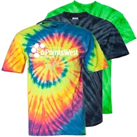 6 POINTS WEST TIE DYE TEE