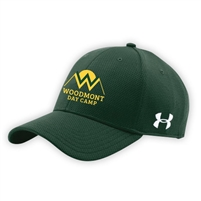 WOODMONT UNDER ARMOUR CURVED BRIM STRETCH FITTED CAP