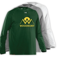 WOODMONT UNDER ARMOUR LONGSLEEVE TEE