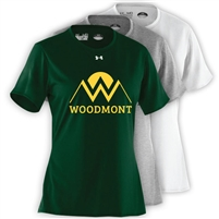 WOODMONT LADIES UNDER ARMOUR TEE