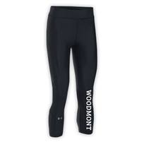WOODMONT LADIES UNDER ARMOUR HEAT GEAR ARMOUR CAPRI