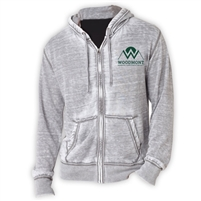 WOODMONT UNISEX BURNOUT HOODY