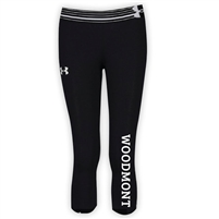 WOODMONT GIRLS UNDER ARMOUR HEAT GEAR ALPHA CAPRI