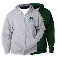 WOODMONT FULL ZIP HOODED SWEATSHIRT