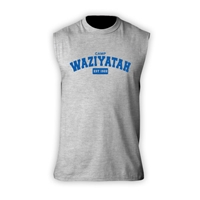 WAZIYATAH SLEEVLESS TEE