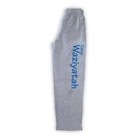 WAZIYATAH OPEN BOTTOM SWEATPANTS WITH POCKETS