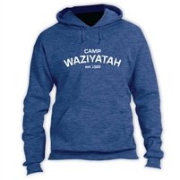 WAZIYATAH VINTAGE HOODED SWEATSHIRT