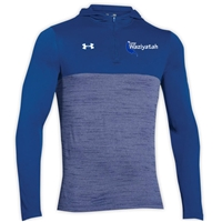 WAZIYATAH UNDER ARMOUR TECH 1/4 ZIP HOODY