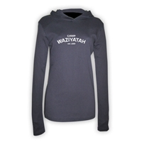 WAZIYATAH AMERICAN APPAREL LONG SLEEVE HOODY