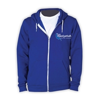 WAZIYATAH AMERICAN APPAREL FLEX FLEECE HOODY