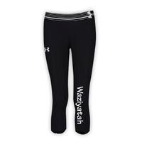 WAZIYATAH GIRLS UNDER ARMOUR HEAT GEAR ALPHA CAPRI