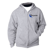 WAZIYAHTAH FULL ZIP HOODED SWEATSHIRT