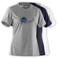 YACHAD LADIES UNDER ARMOUR TEE