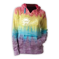 YACHAD COURTNEY BURNOUT V-NOTCH SWEATSHIRT