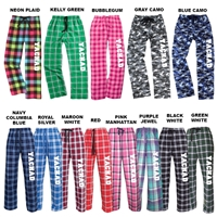 YACHAD FLANNEL PANTS