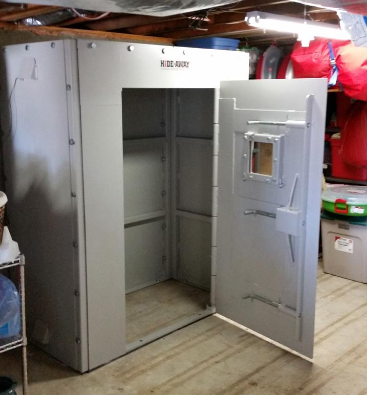 Awesome Garage Floor Storm Shelter Plans