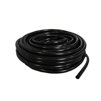 "Half Off Ponds Black Vinyl Tubing  .25"" x 50'"