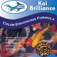 Thrive Koi Nutrition - Koi Brilliance Color Enhancing Formula, 10 LB